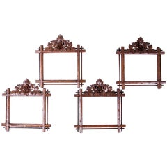 Black Forest Frames, Set of Four, Austria circa 1900