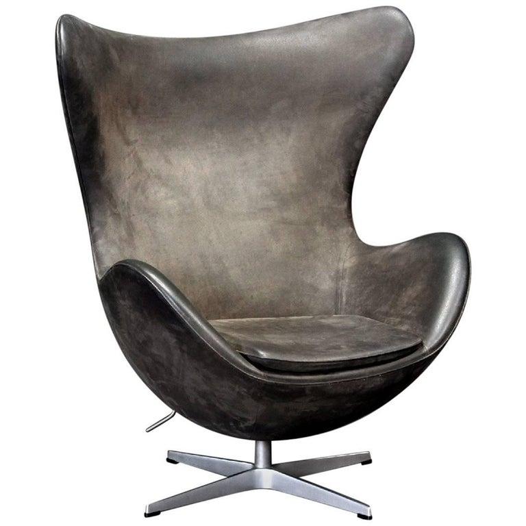 Arne Jacobsen Egg Chair by Fritz Hansen in Denmark