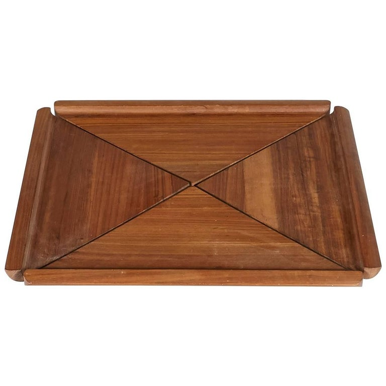 Dansk Jens Quistgaard Mutenye Large Serving Tray For Sale