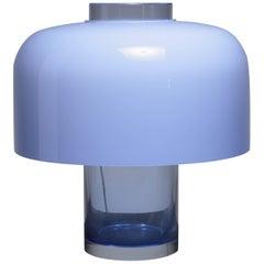 Carlo Nason Table Lamp and Vase for Mazzega, Italy, 1960s