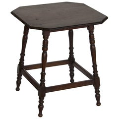 Edwardian English Lamp Table