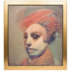 Edgar Sanchez Original Acrylic On Canvas