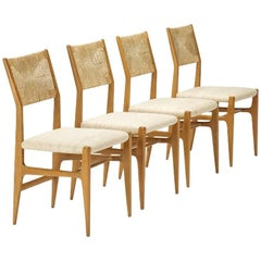 Set of Four Gio Ponti Dining Chairs
