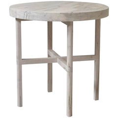Ox Side Table or Occasional Table in Bleached Ambrosia Maple