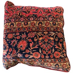 Large Vintage Kilim Pillow