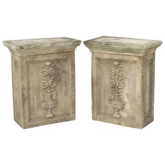 English Garden Stone Pedestals or Planter Plinths 'Individually Priced'