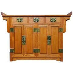 Chinese Hardwood Credenza by George Zee