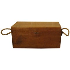 Victorian Pine Carpenters Box or Sea Chest