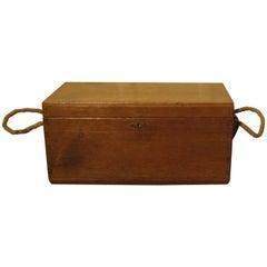Victorian Pine Carpenters Box or Sea Chest