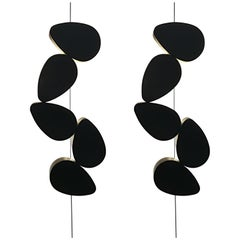 Pair of Sconces Five Elements by Stephane Ducatteau