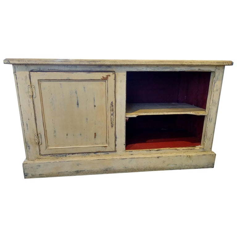 French Zinc Top Bakery Store Counter For Sale