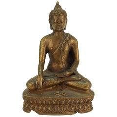 Chinese Seated Bronze Buddha Figure