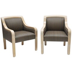 Pair of Armchairs by J. Robert Scott