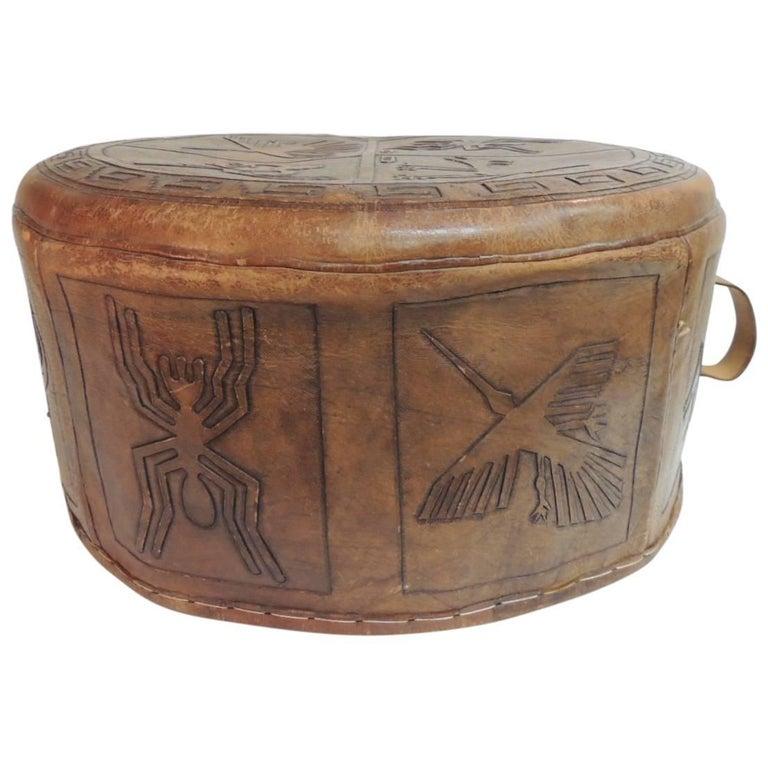 Tooled Leather Furniture Peru