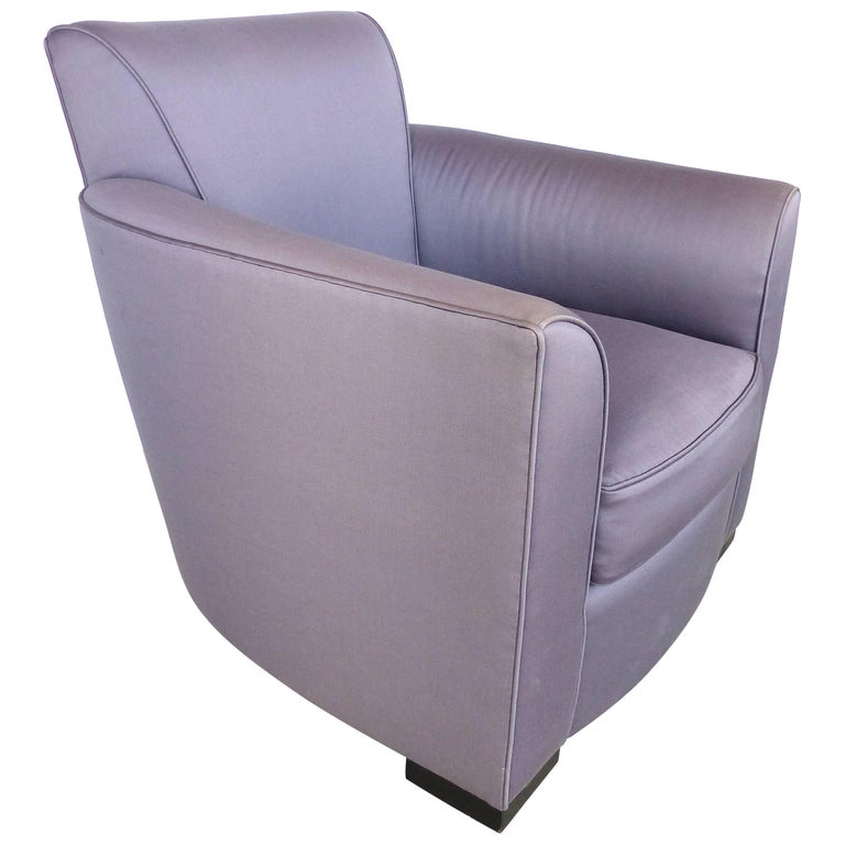 """Donghia Upholstered """"Noble"""" Club Chair"""