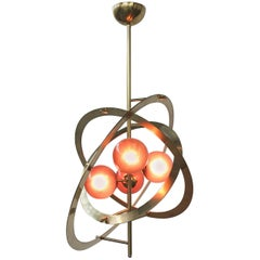 Galileo Purple Globes Murano Chandelier