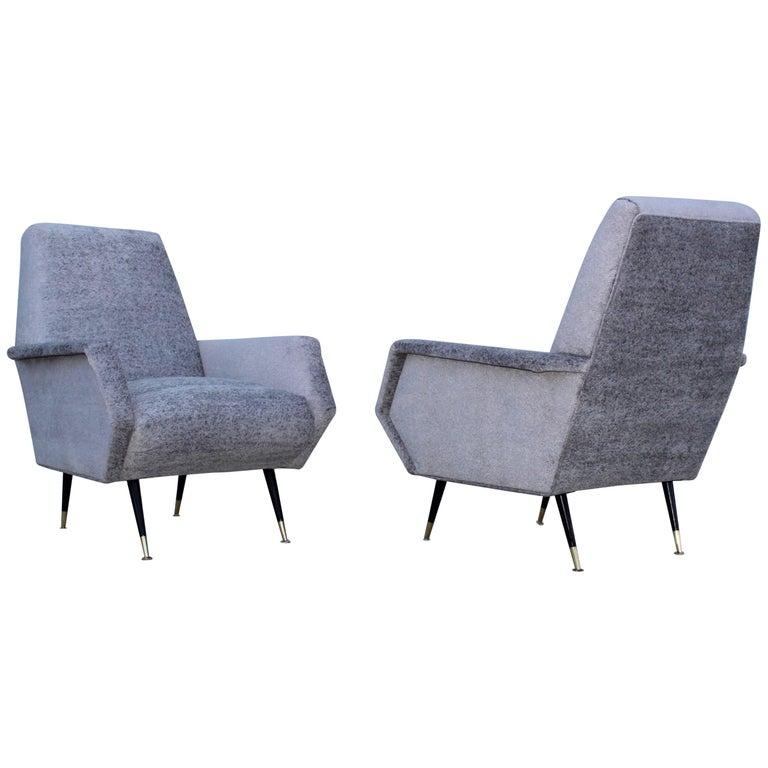 Mid-Century Modern Italian Lounge Chairs