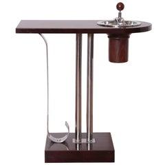 Machine Age Art Deco Smoker Table Belmet Products in the Manner of Von Nessen