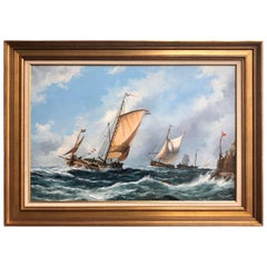 """Strong Seas"" Painting by John Bentham-Dinsdale"