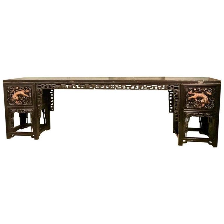 Long Chinese Altar Table, circa 1850