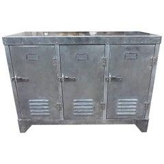 Metal Locker Sideboard