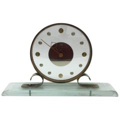 Mid-Century Modern Table Clock Iatos Per Venini
