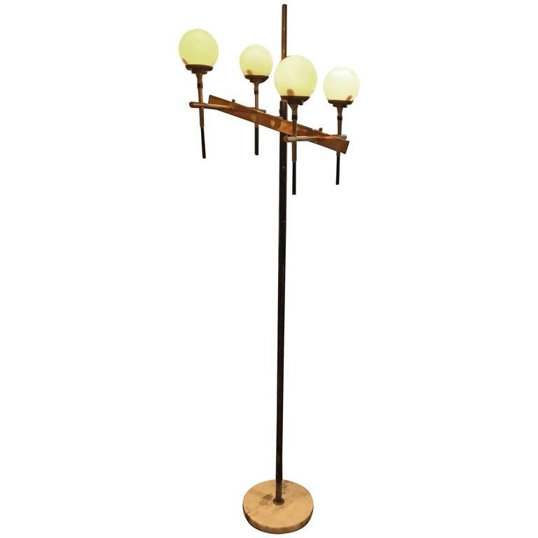 Stilnovo Floor Lamp, Italy, circa 1958
