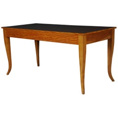 20th Century Large Dinner Table, Biedermeier, Birch