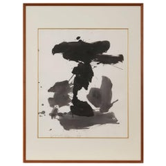 Peter Voulkos, American Abstract Untitled Watercolor, 1998