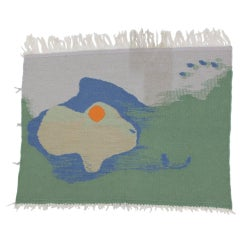 Mid-century deisgn wall tapestry