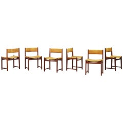 Set of Six Beautiful Dining Chairs by Peter Hvidt and Orla Mølgaard Nielsen