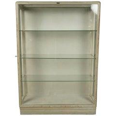 French Glass Display Cabinet, circa 1940