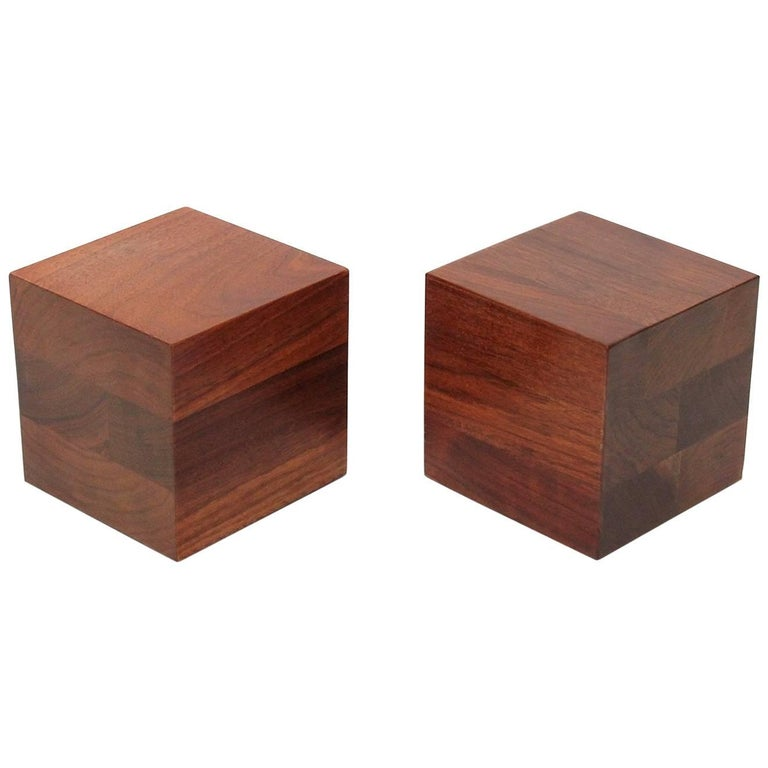 Walnut Martz Bookends For Sale