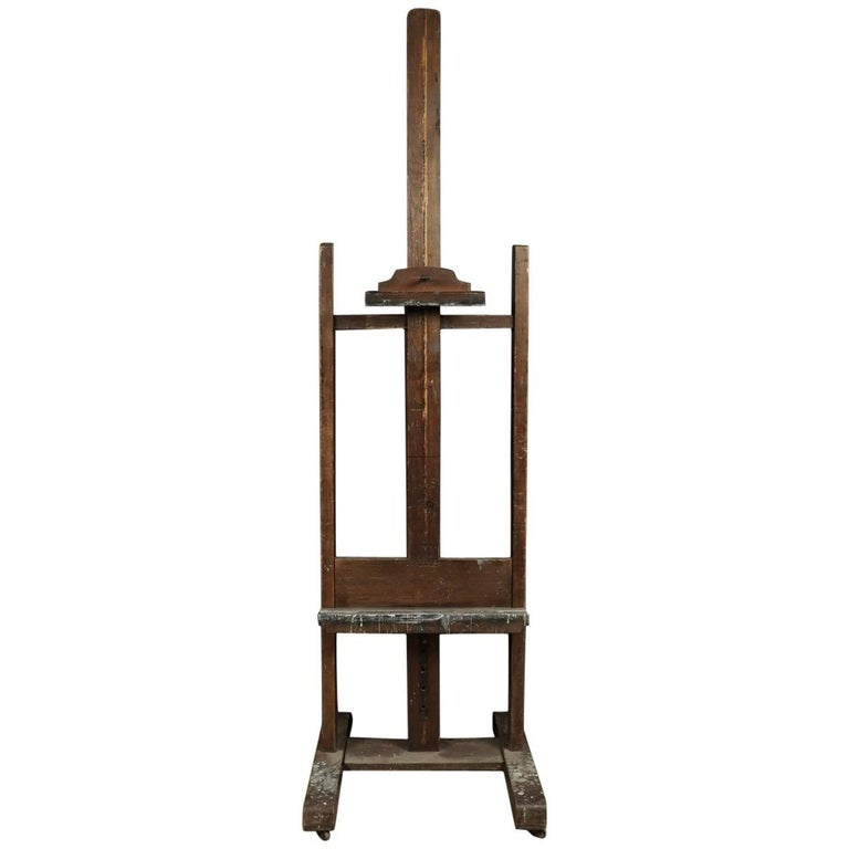 Artist's Easel From France, Circa 1950