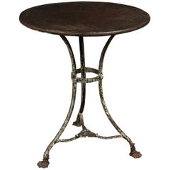 19th Century Bistro Table From Arras