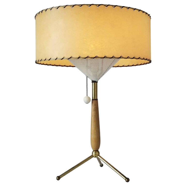 Gerald Thurston Table Lamp, 1950s, USA