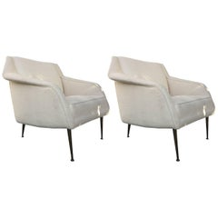 Pair of Carlo di Carli for Singer Armchairs