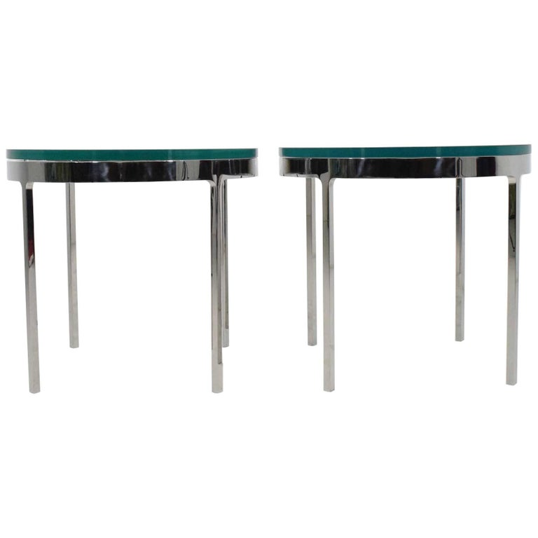 Nicos Zographos Side Tables