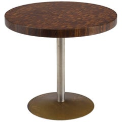 Jules Wabbes Exclusive Small Round Table in Wenge