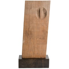 Yongjin Han, a Piece of Wood, Sculpture, United States, 1976