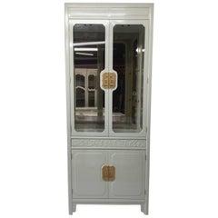 Henredon Vintage China Cabinet, Lacquered