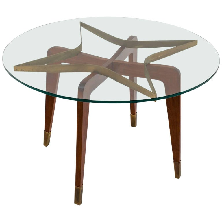 Side Table Attributed to Mario Gottardi, Italy, 1950s