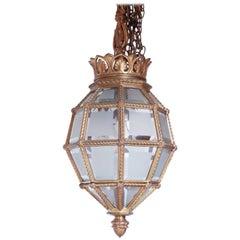 French Versaille Bronze Lantern