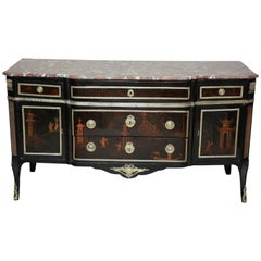 French Transitional Chinoiserie Commode