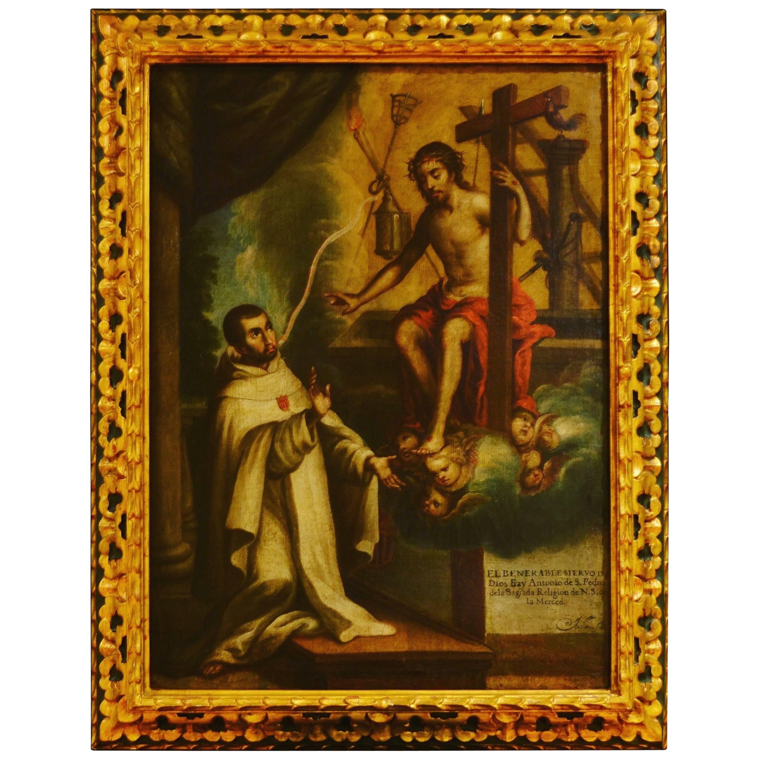 Fray Antonio de San Pedro by Manuel de Arellano, XVII Century
