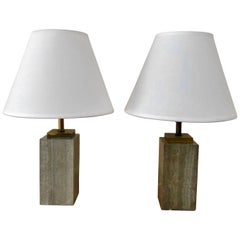 Pair of Robsjohn-Gibbings Beside Table Lamps