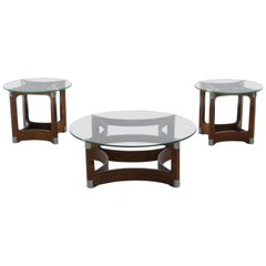 Brazilian Midcentury Set of Tables by Jorge Zalszupin