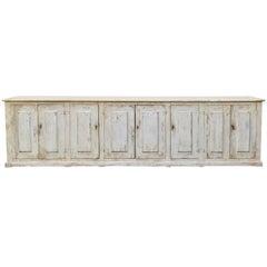 18th century Italian 8 Door Sideboard