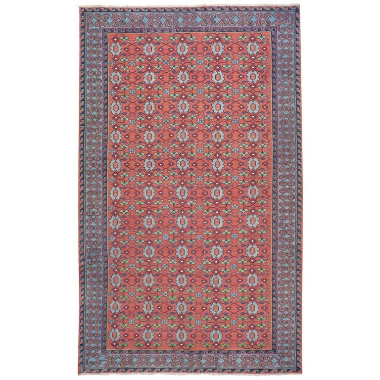 """Flowers"", Caucasian Sumak Carpet"