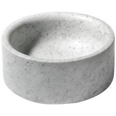 Salvatori Pozzo Basin in Bianco Carrara Marble
